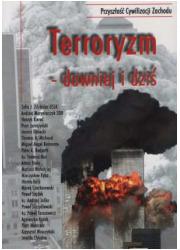Terroryzm - dawniej i dziś - okładka książki