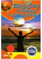 Modlitwy poranne i wieczorne - okładka książki