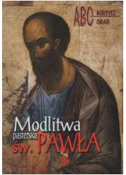 Modlitwa pasterska świętego Pawła - okładka książki