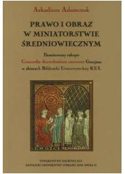Prawo i obraz w miniatorstwie średniowiecznym - okładka książki