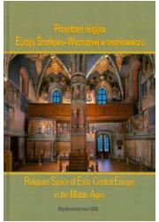 Przestrzeń religijna Europy Środkowo-Wschodniej - okładka książki