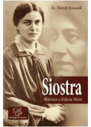 Siostra. Wiersze o Edycie Stein - okładka książki