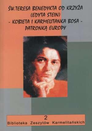 Św. Teresa Benedykta od Krzyża - okładka książki
