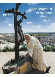 Jan Paweł II w świecie Kalendarz - okładka książki