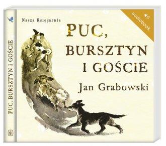 Puc Bursztyn i goście (CD) - pudełko audiobooku