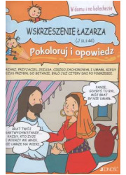 Wskrzeszenie Łazarza - okładka książki