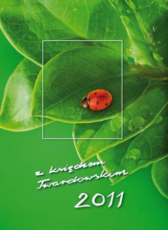 Kalendarz z księdzem Twardowskim - okładka książki