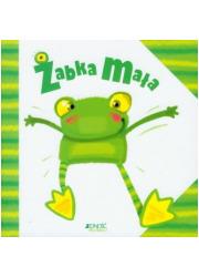 Żabka mała - okładka książki