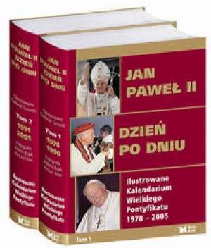 Jan Paweł II. Dzień po dniu. Ilustrowane - okładka książki