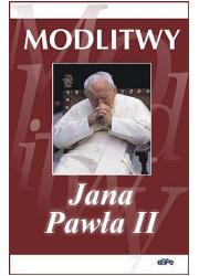Modlitwy Jana Pawła II - okładka książki