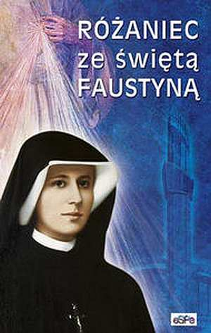 Różaniec ze świętą Faustyną - okładka książki