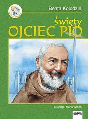 Święty Ojciec Pio - okładka książki