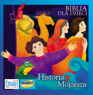 Biblia dla dzieci. Historia Mojżesza - pudełko audiobooku