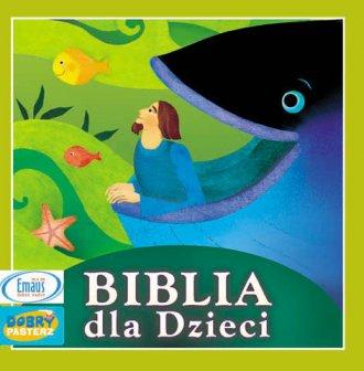 Biblia dla dzieci (CD audio) - pudełko audiobooku
