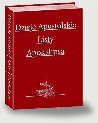 Dzieje Apostolskie. Listy. Apokalipsa - pudełko audiobooku