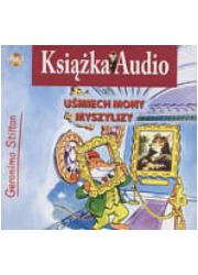 Uśmiech Mony Myszylizy (CD mp3) - pudełko audiobooku