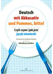Deutsch mit akkusativ und pommes, - okładka podręcznika