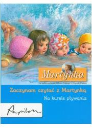 Martynka na kursie pływania. Zaczynam - okładka książki