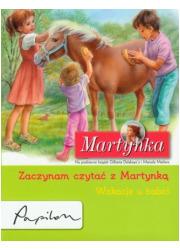 Martynka. Wakacje u babci. Zaczynam - okładka książki