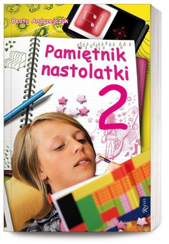 Pamiętnik nastolatki 2 - okładka książki