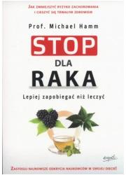 Stop dla raka - okładka książki