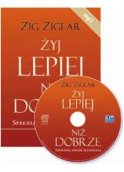 Żyj lepiej niż dobrze (CD audio) - pudełko audiobooku
