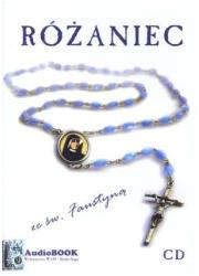 Różaniec ze św. Faustyną (CD) - pudełko audiobooku