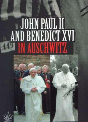 John Paul II and Benedict XVI in - okładka książki