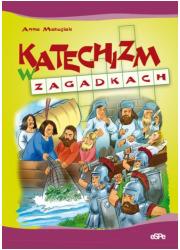 Katechizm w zagadkach - okładka książki