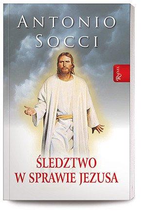Śledztwo w sprawie Jezusa - okładka książki