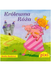 Pixi. Królewna Róża - okładka książki