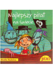 Pixi. Najlepszy pirat na świecie - okładka książki