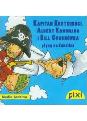 Pixi. Kapitan Krótkonogi Albert - okładka książki