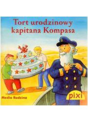 Pixi. Tort urodzinowy kapitana - okładka książki