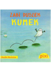 Pixi. Żabi duszek Kumek - okładka książki