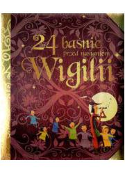 24 baśnie przed nastaniem Wigilii - okładka książki