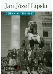 Dzienniki 1954-1957 - okładka książki