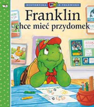 Franklin chce mieć przydomek - okładka książki
