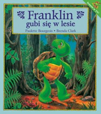 Franklin gubi się w lesie - okładka książki