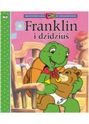 Franklin i dzidziuś - okładka książki