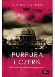 Purpura i czerń - okładka książki