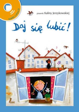 Daj się lubić (+ CD) - okładka książki