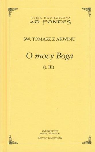 O mocy Boga. Tom 3. Seria dwujęzyczna - okładka książki