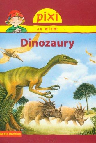 Dinozaury. Pixi Ja wiem - okładka książki