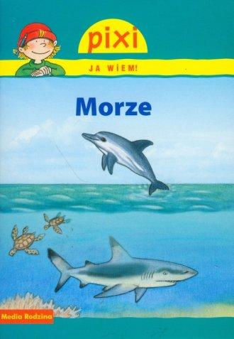 Morze. Pixi Ja wiem - okładka książki