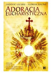 Adoracja eucharystyczna - okładka książki