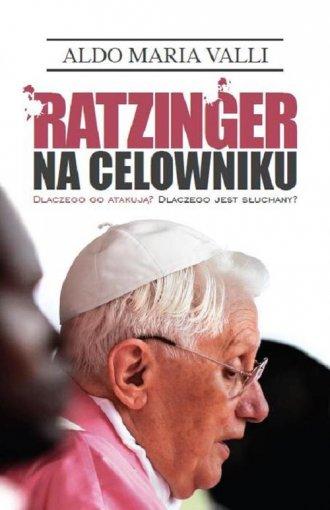 Ratzinger na celowniku - okładka książki