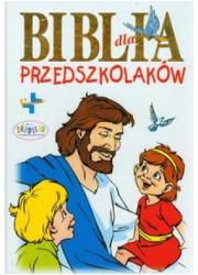 Biblia dla przedszkolaków - okładka książki