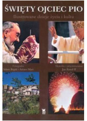Święty Ojciec Pio. Ilustrowane - okładka książki