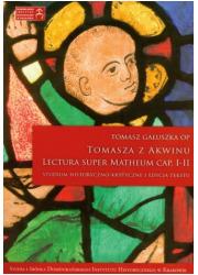 Tomasza z Akwinu Lectura Super - okładka książki
